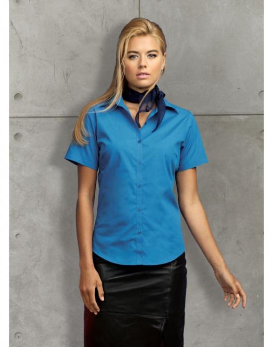 Dámská košile s krátkým rukávem Premier Workwear PR302  70c1504488