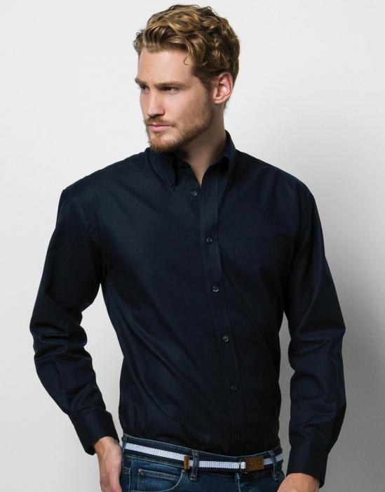 Cvalda.cz - Pánská košile s dlouhým rukávem Oxford Kustom kit 346103fae8